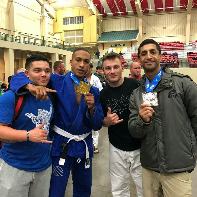 Greubel's BJJ Team medals at IBJJF tournament -  Great job by Syndey Hall winning GOLD at the Charlotte open, and professor Ale' Nogueira winning silver in the Masters black belt division! Fantastic performances by Cedric and Tyler.