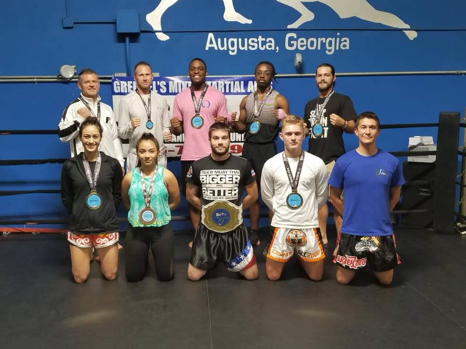 WAKO kickboxing results - Greubel's MMA brings home 7 Golds and 2 Silver medals from the 2018 W.A.K.O. Stars and Stripes tournament in Augusta, Georgia!