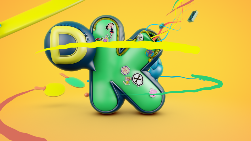 Beeld DiscoveryKids Férias Design Motion Promo Toolkit 3D