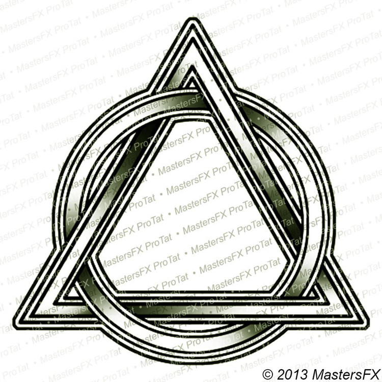 Circle And Triangle Intertwined Mastersfx