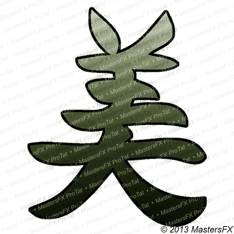 Beauty Chinese Kanji 2 Mastersfx