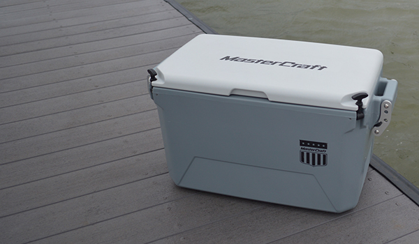 Cordova Coolers | Mastercraft custom branded cooler
