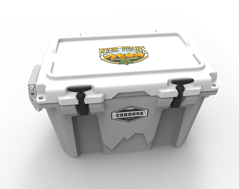 Cordova Coolers | Four Peaks custom branded cooler