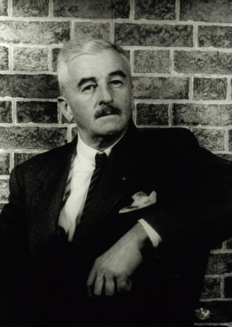 William Faulkner - Master of stories, master of the mustache.