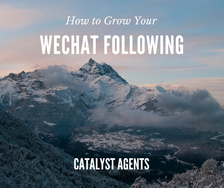 CATALYST AGENTS - WECHAT MARKETING