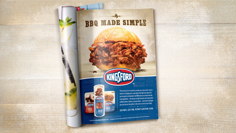 Kingsford Print Advertising Photography