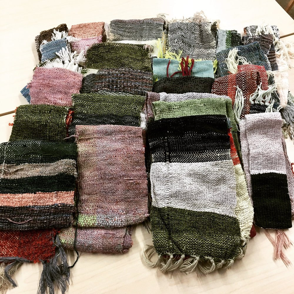 SCARVES WOVEN FOR DONATION