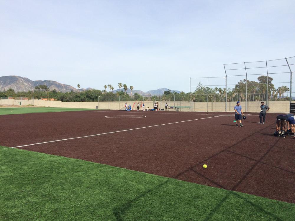 PUC Baseball Infield