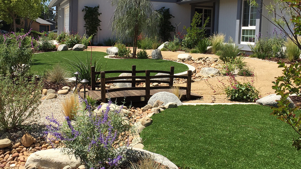 Residential landscaping - California SportScapes Drought Tolerant Landscape Design & Build