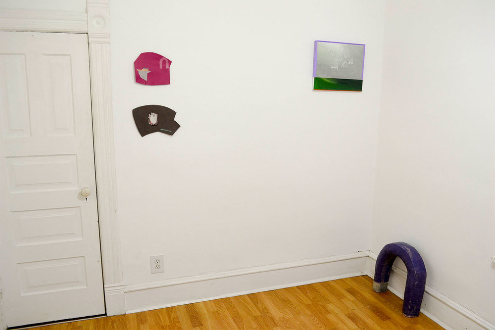 erin paradis  /  kate sheldon  / installation view