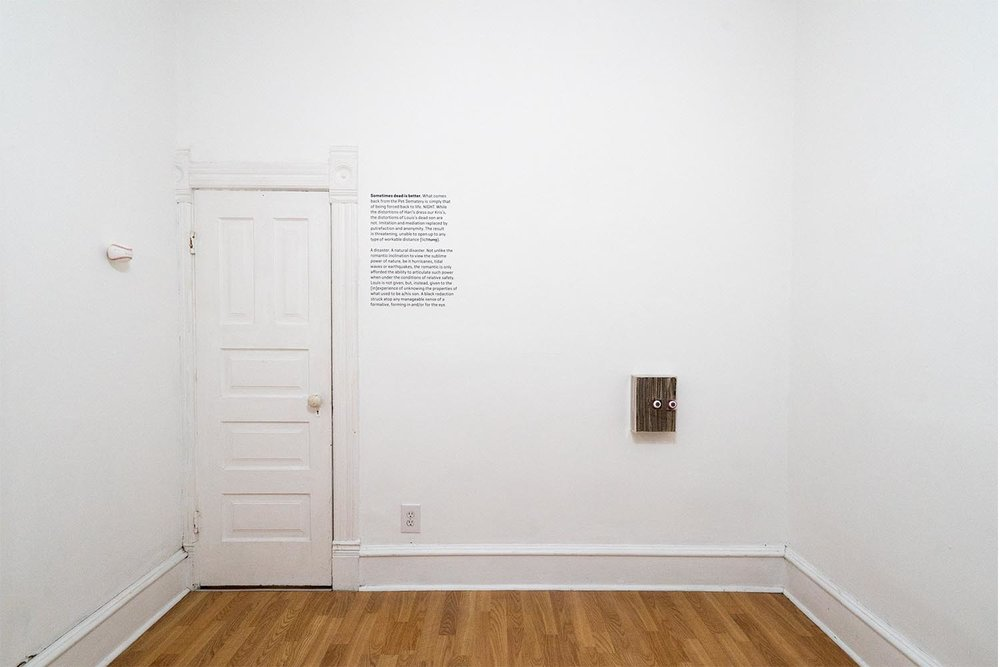 darren tesar  / installation view