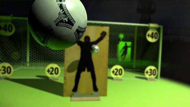 In Headmaster in PSVR, you act like a soccer player and use your head to spike the ball into the net and score points