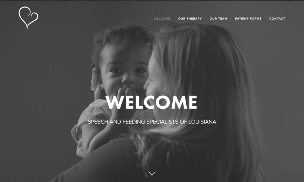 speech and feeding Specialists of Louisiana Website