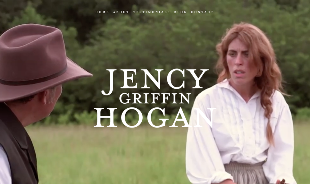 Jency Griffin Hogan Website