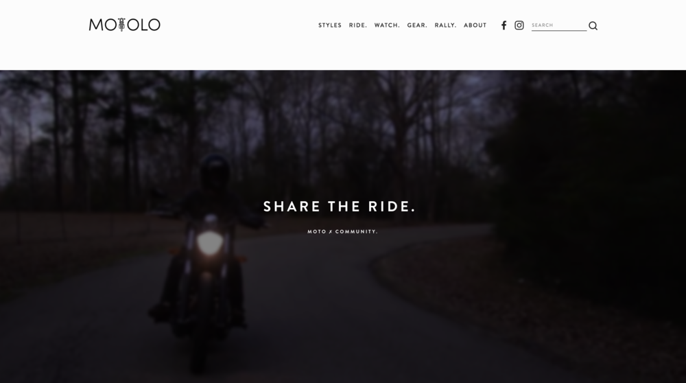 Motorcycles and motorcycle websites