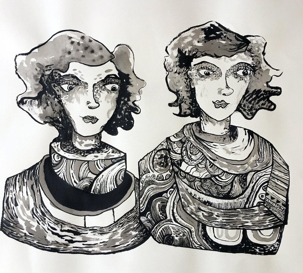 Jonathan Wilson - Two ladies