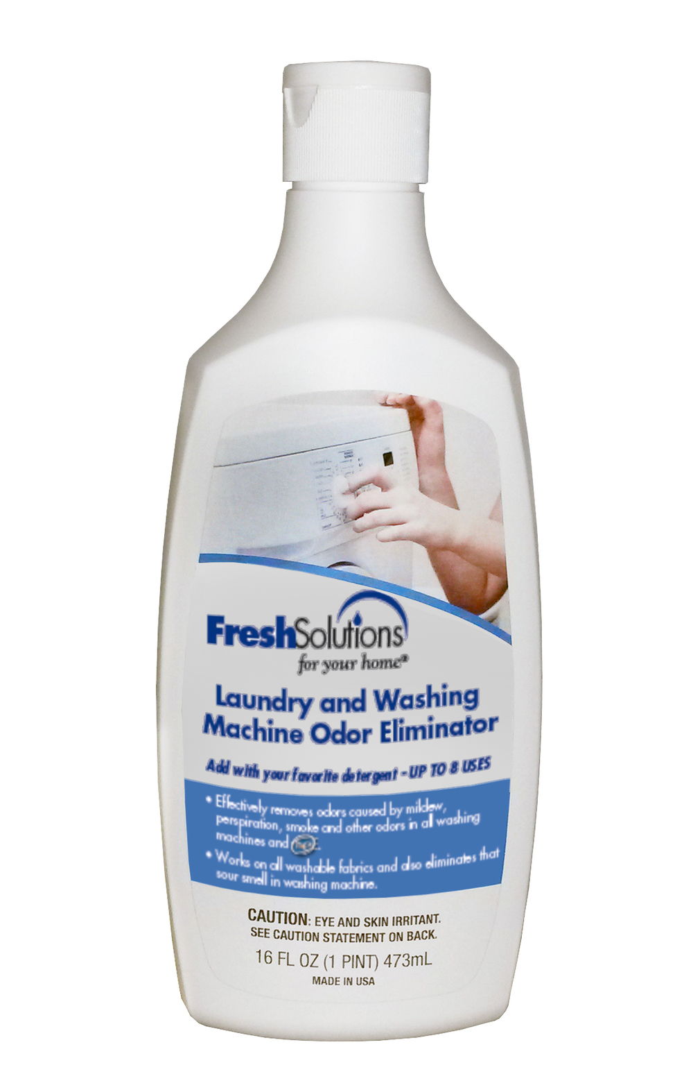 Laundry and Washing Machine Odor Eliminator