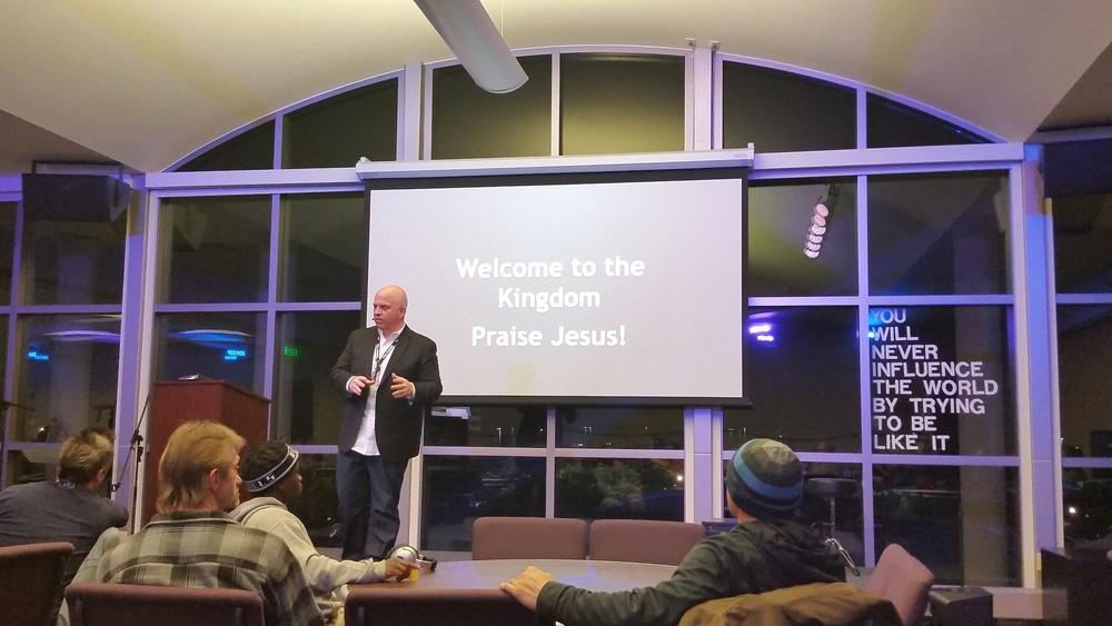 Pastor John Steger