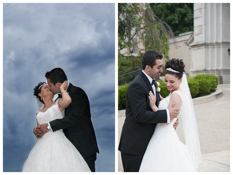 Farmington Hills wedding photographer