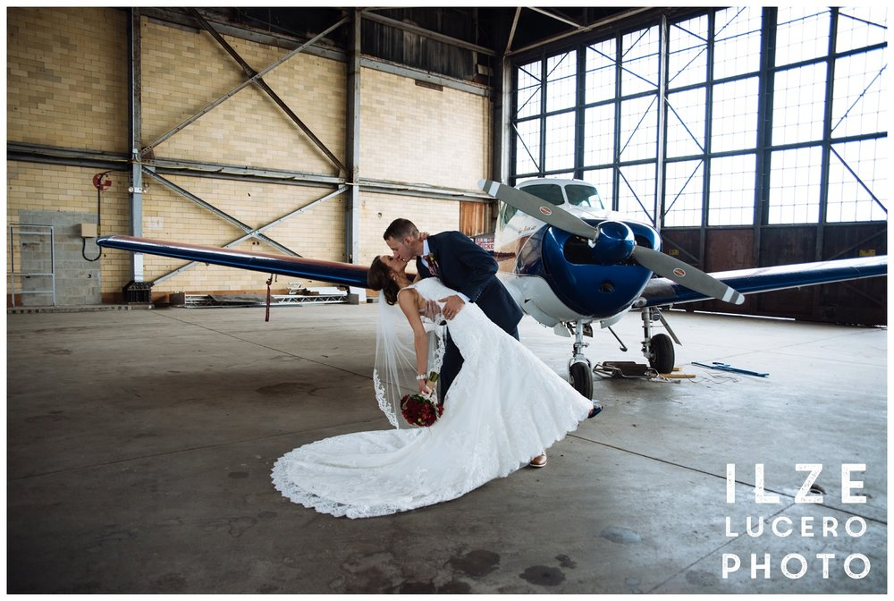 Airplane Wedding shoot