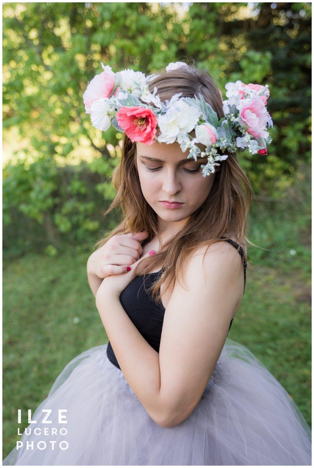 Glamour senior photography