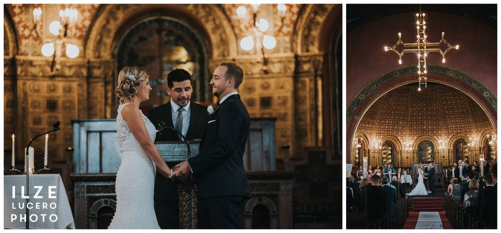 Detroit church wedding inspiration