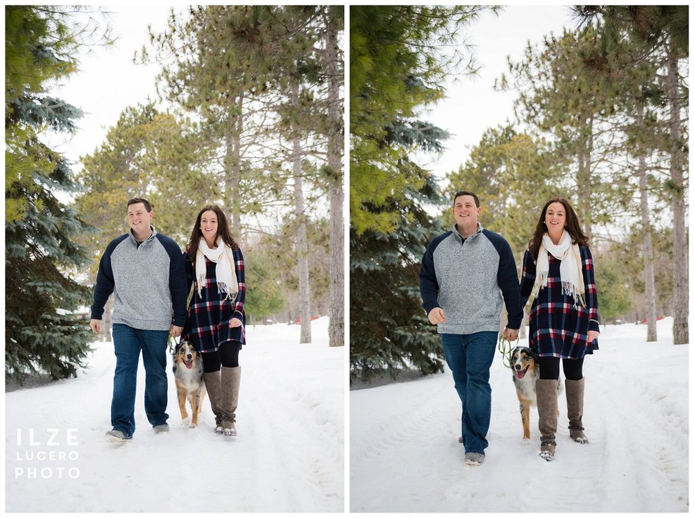 Snow Photo Session -  Clarkston photographer