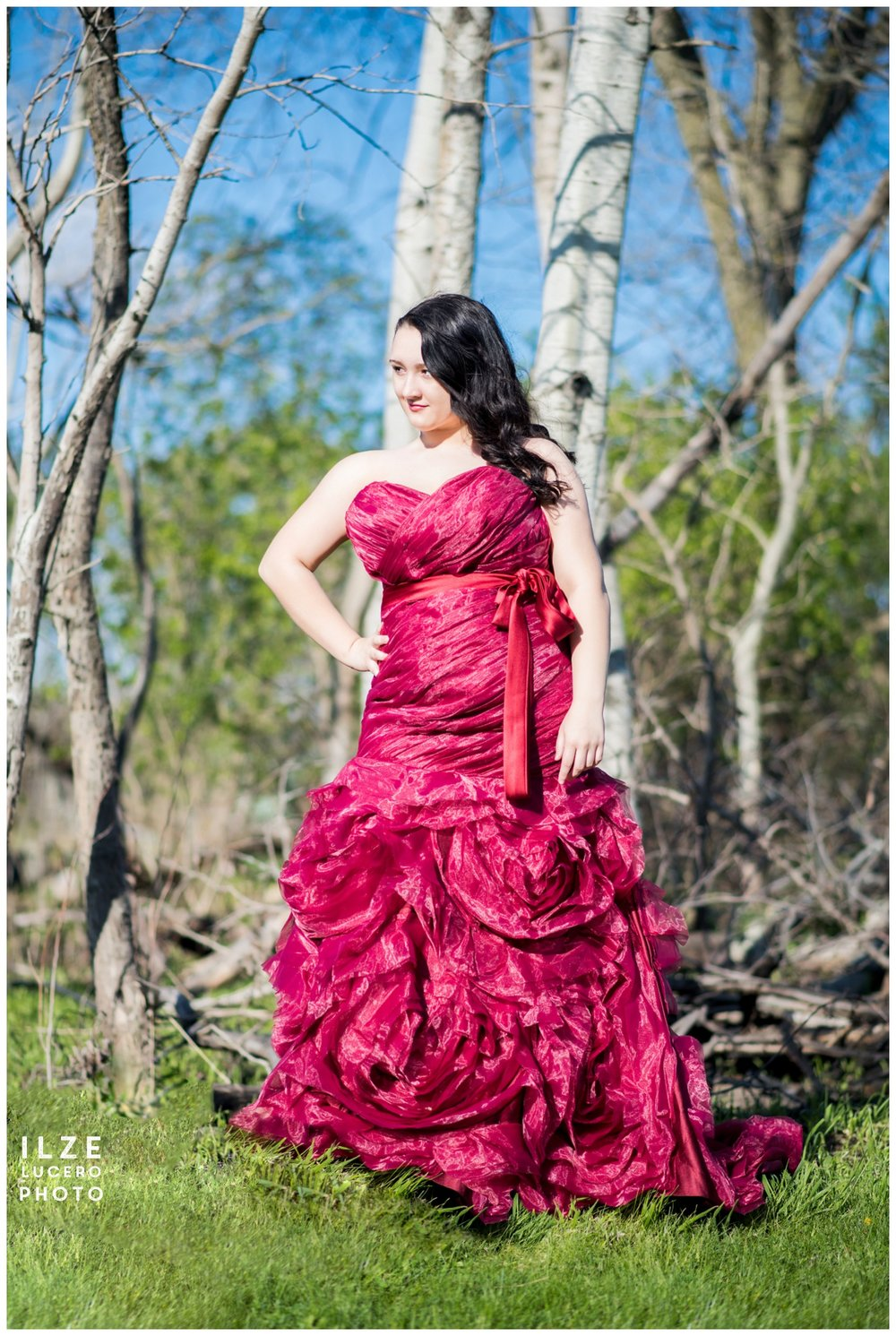 Gown Senior Photo Session