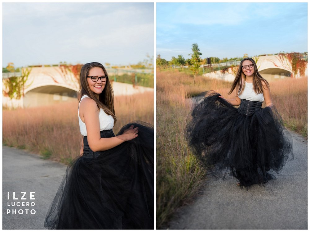 Tulle skirt photo session