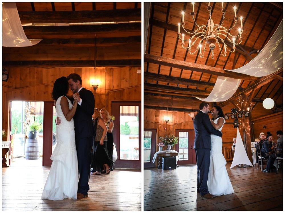 Barn Wedding -  dance