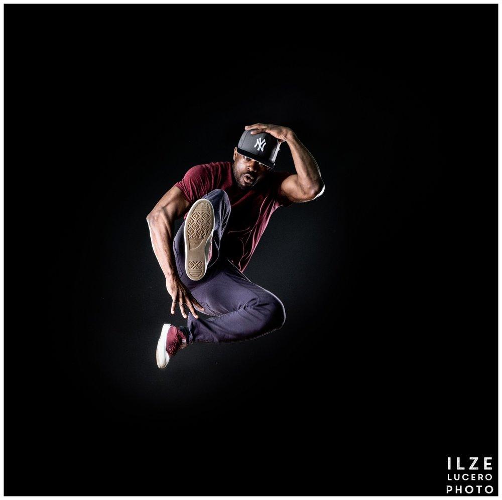 Dancer jumping - Clarkston photographer