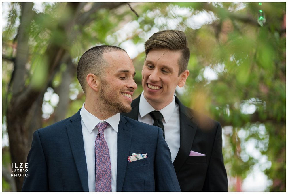 Same sex wedding photo shoot