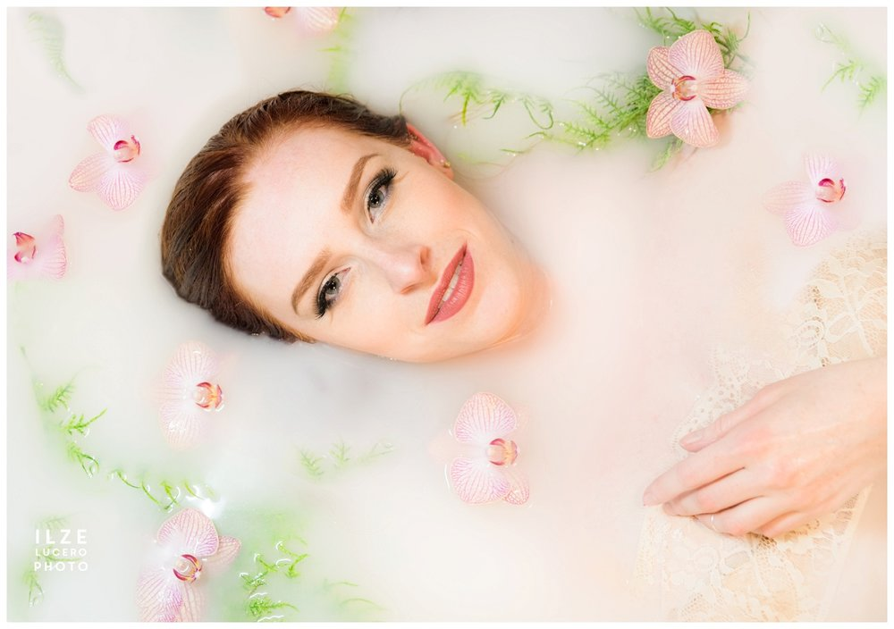 Milk bath Fashion Beauty Photo Inspiration
