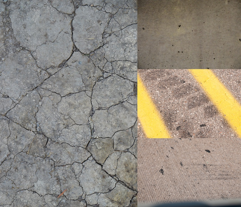 Free cement textures