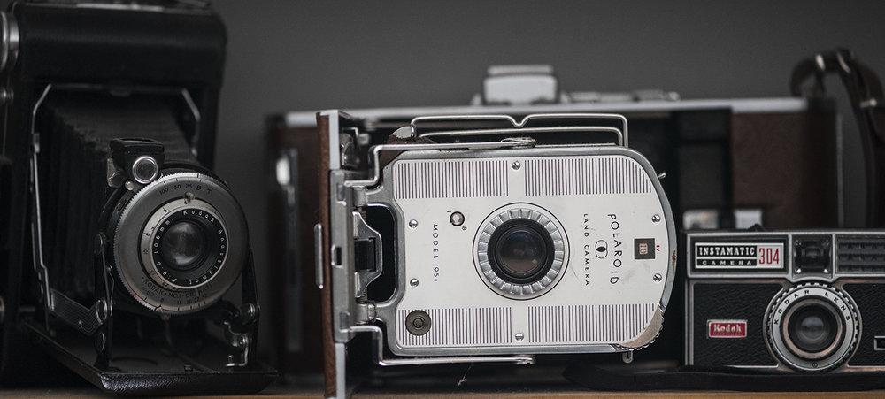 Vinatge cameras