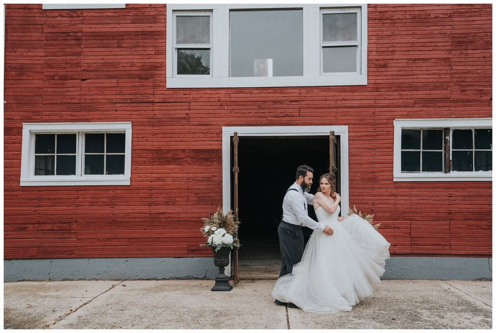 Clarkston Barn Wedding