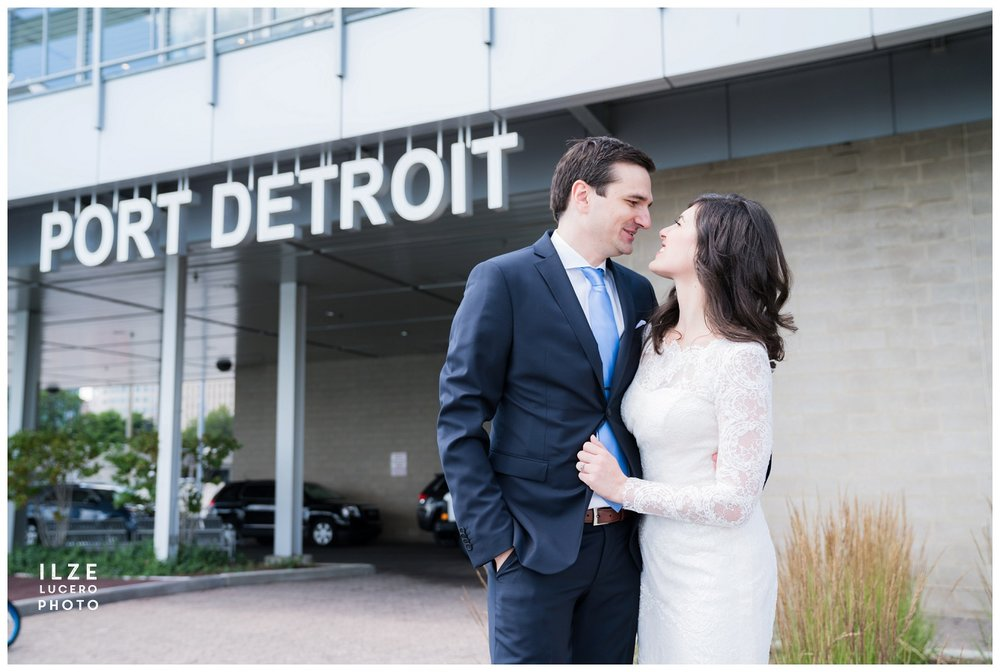 Wedding at Port of Detroit