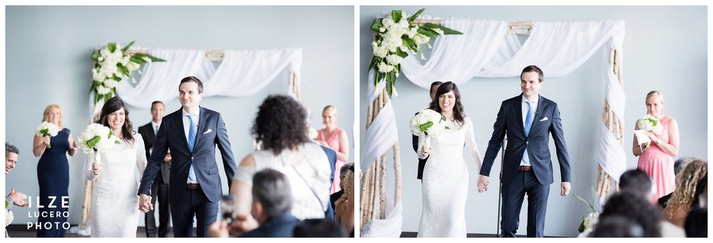 Modern Detroit Wedding