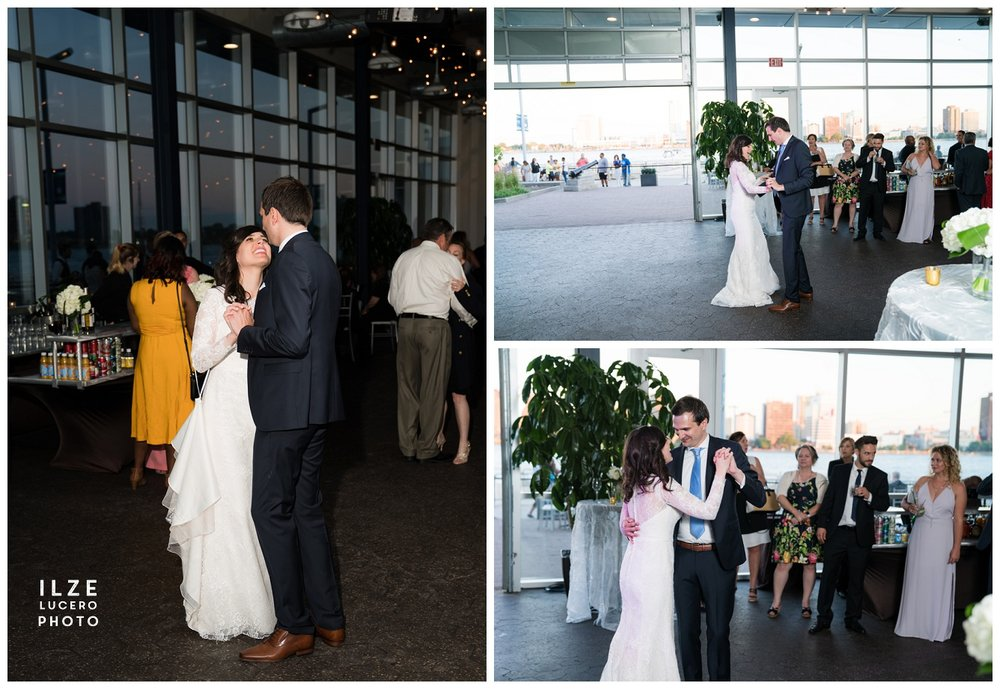 Detroit Wedding at port of Detroit
