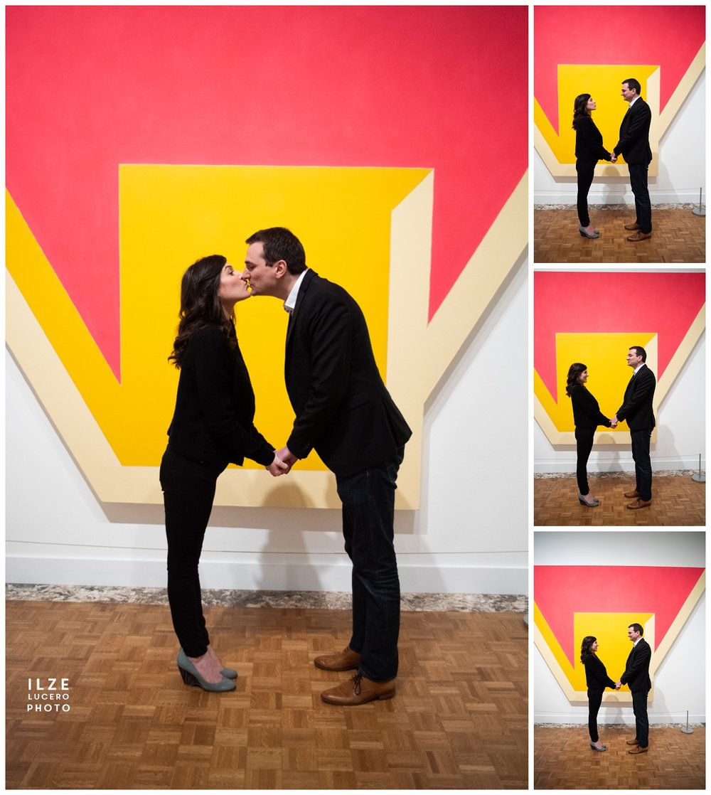 Bold art Engagement Photo Shoot at DIA