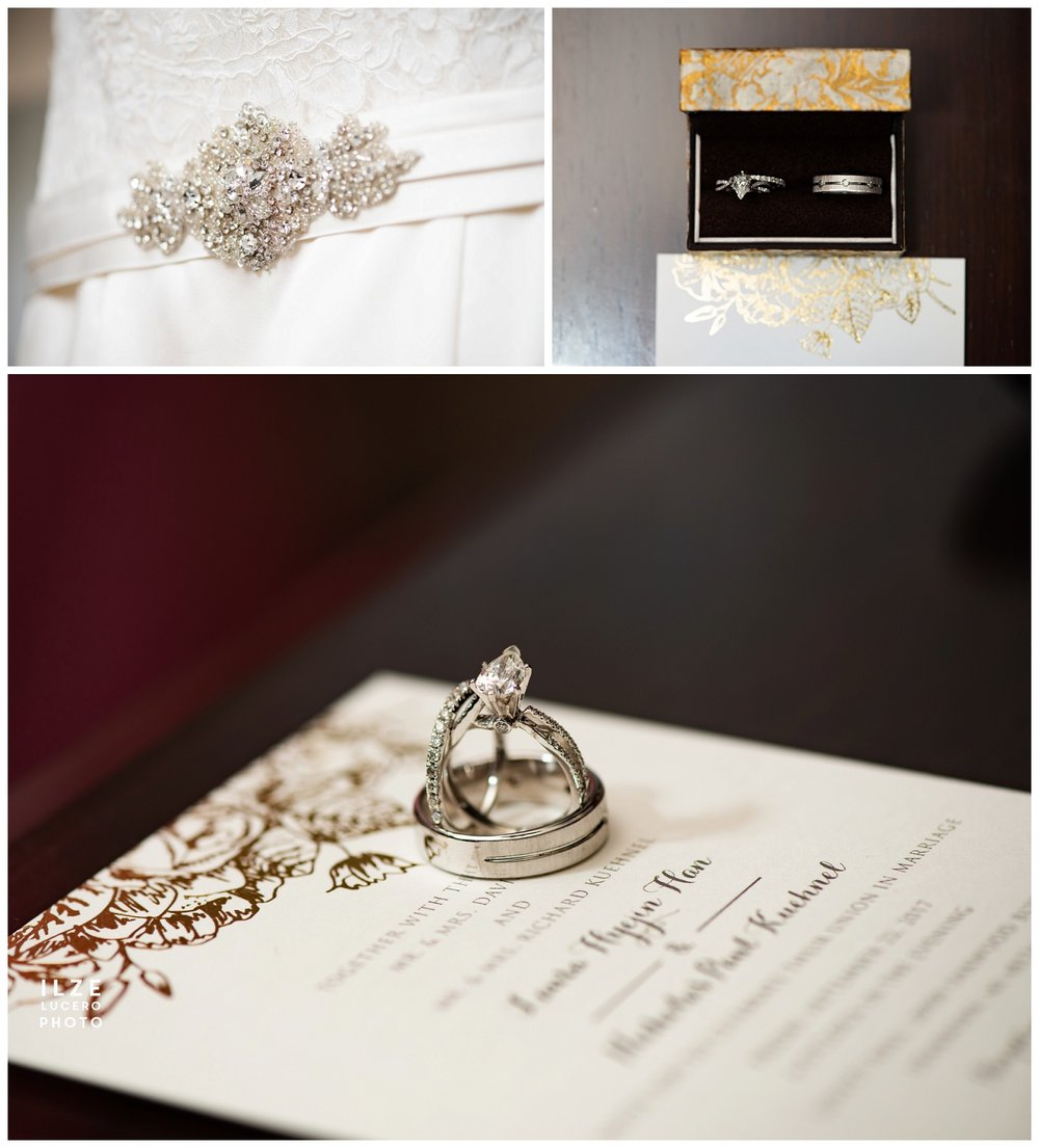 Wedding details with Minted Wedding invitation