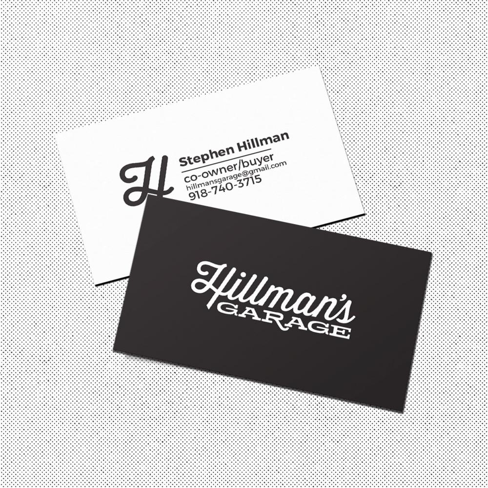 hillman's business card