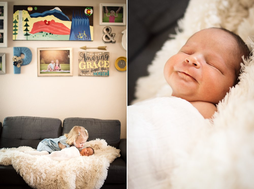 newborn home photos