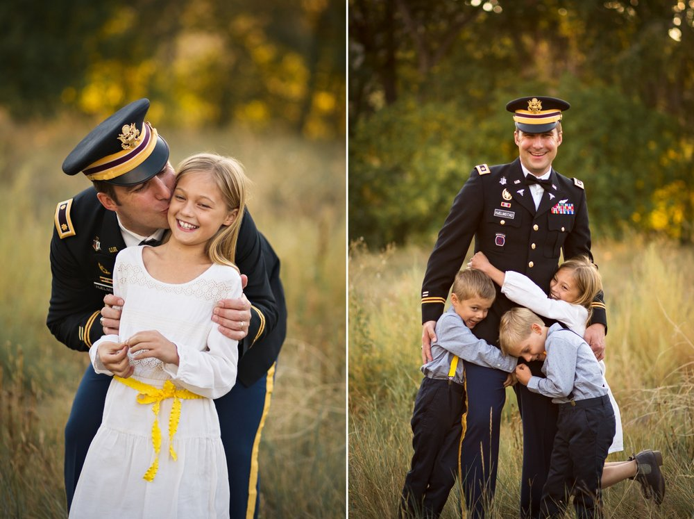 father daughter portrait, daddy and me photo, dad and daughter, colorado dad, father's day gift idea