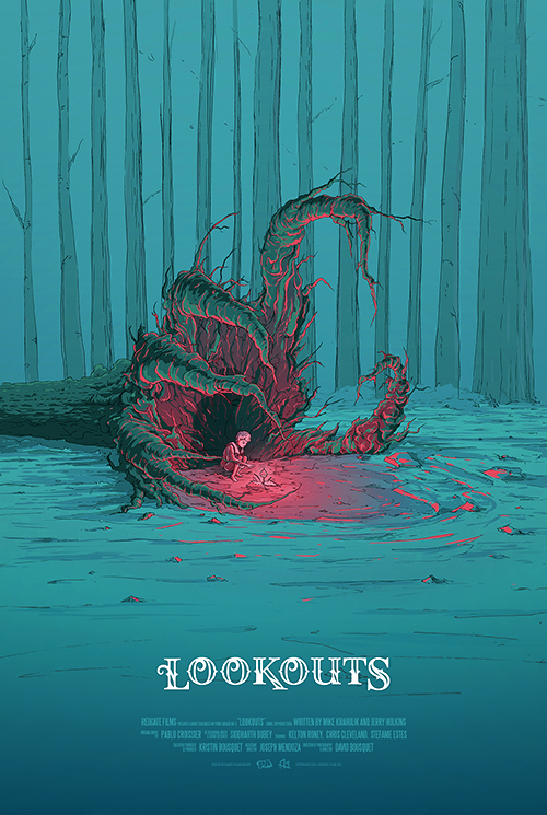 RedGate Films, Inc. Lookouts Poster