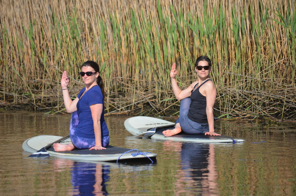 PADDLE BOARD YOGA SERIES