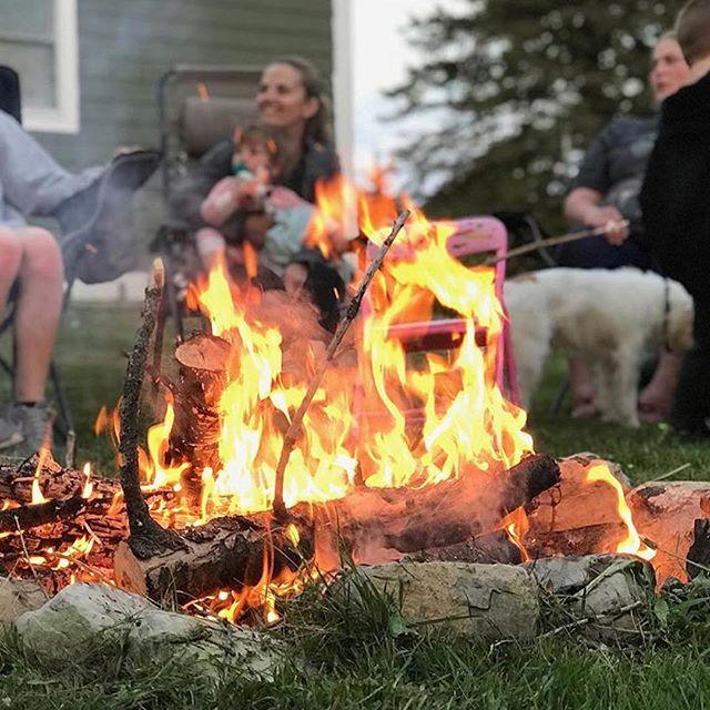 "Have a great weekend! 😎 Reposting @mannsmercantile: ... ""Let the summer bonfires begin! #washingtonisland #bonfires #summerfun #doorcounty"""
