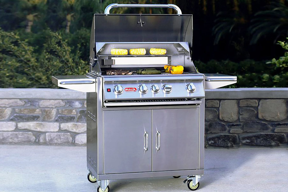 Angus Gas Grill Cart