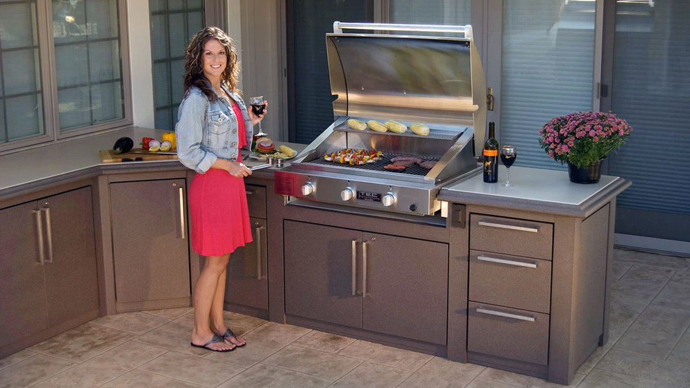 Sunset Bay - Custom Tuscany Outdoor Kitchen