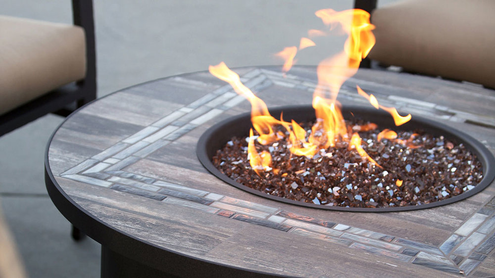 OW Lee - Rio Tile Fire Pit Top